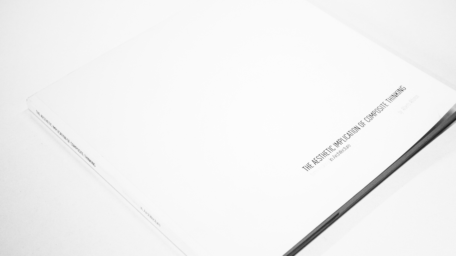 THE AESTHETIC IMPLICATION OF COMPOSITE THINKING Book