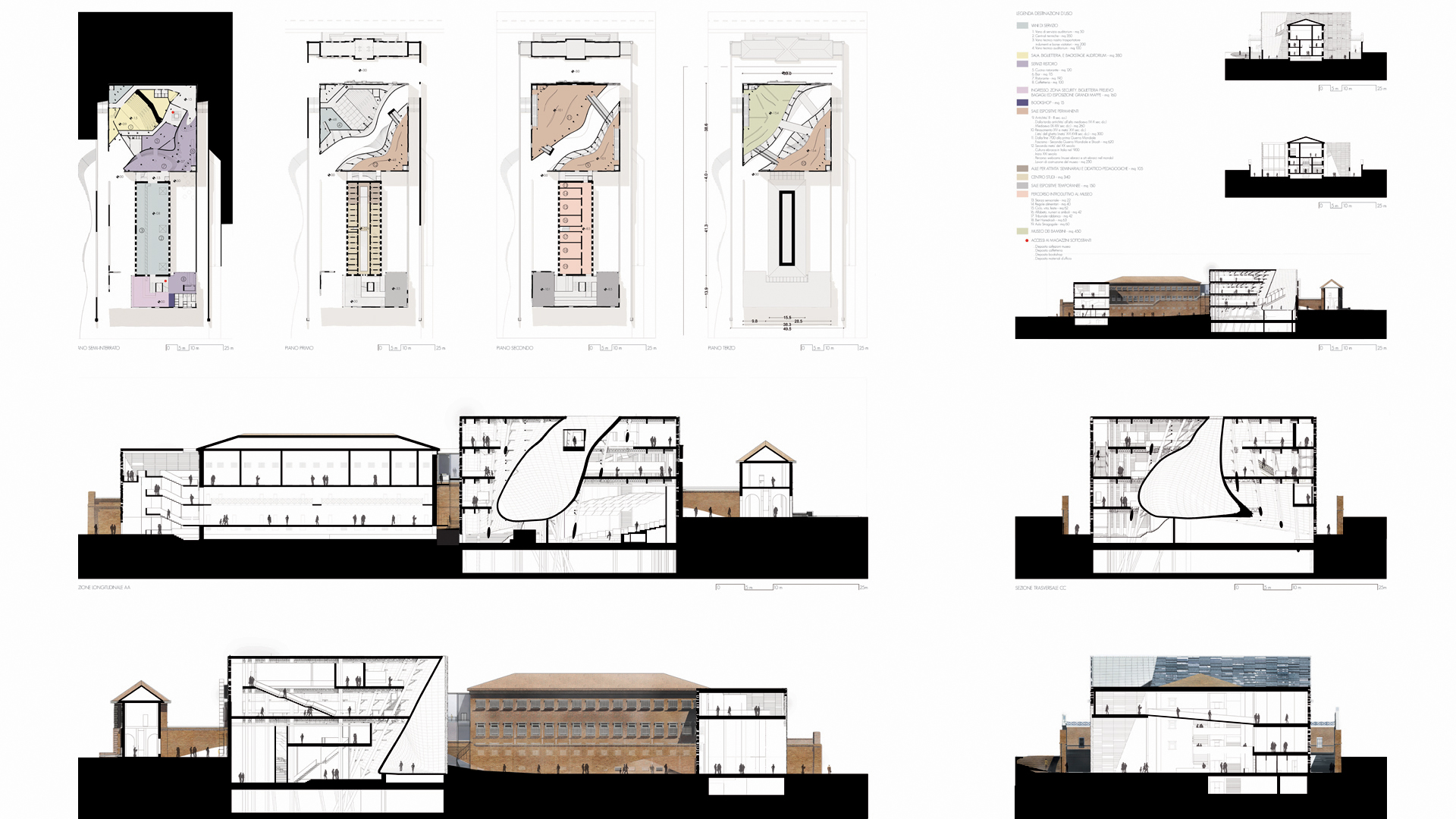 Urban Void Meis Competition Alfonso Architetti Project