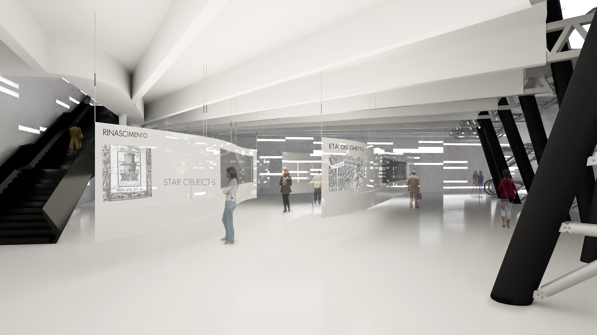Urban Void Meis Competition Alfonso Architetti Rendering