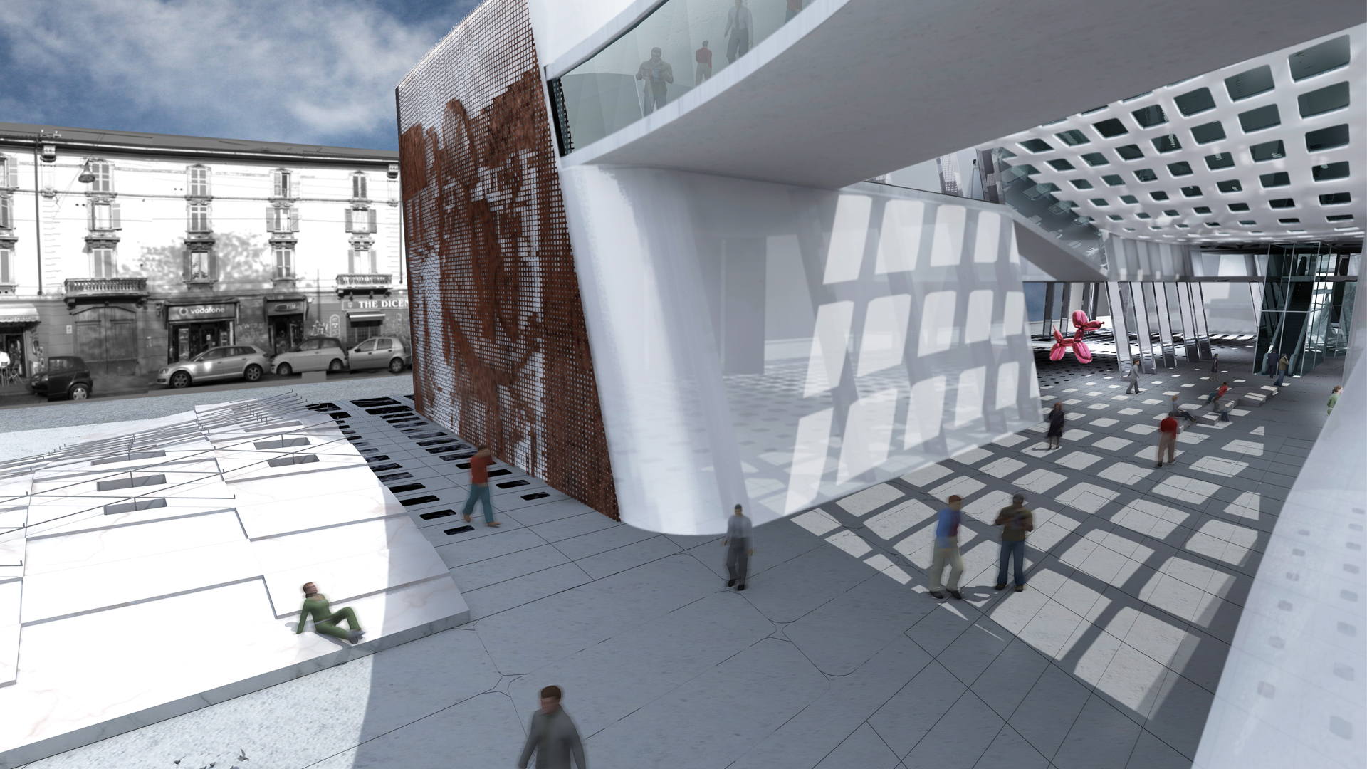 Urban Crafting Alfonso Architetti Outside Render